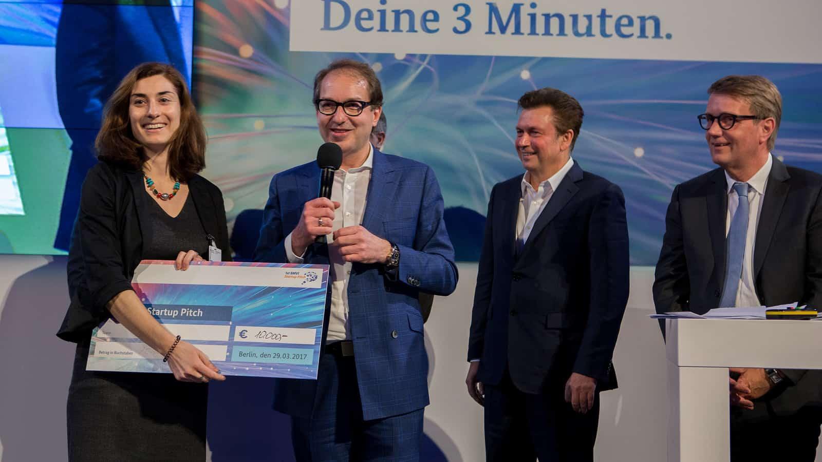 Bundesminister Dobrindt vertraut auf accu:rate!