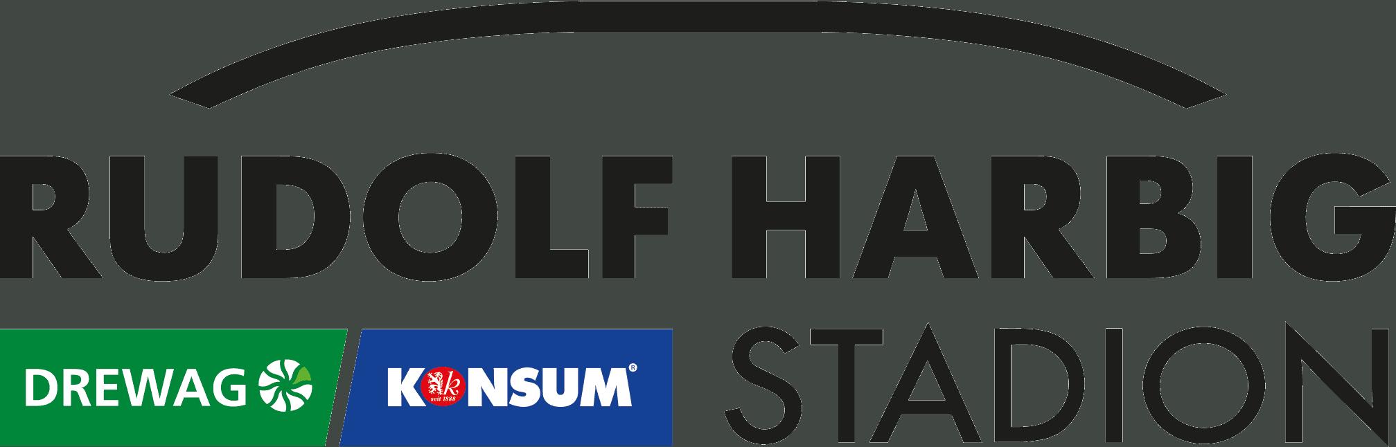 Rudolf Harbig Stadion Logo