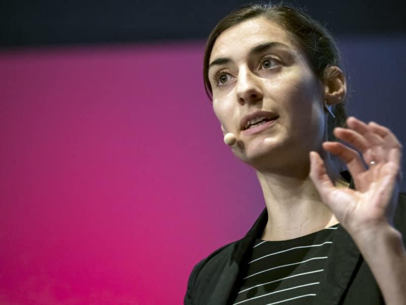 Angelika Kneidl's Talk bei TEDxTUM