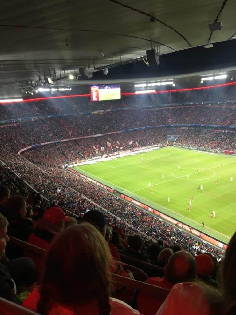 Allianz Arena infield