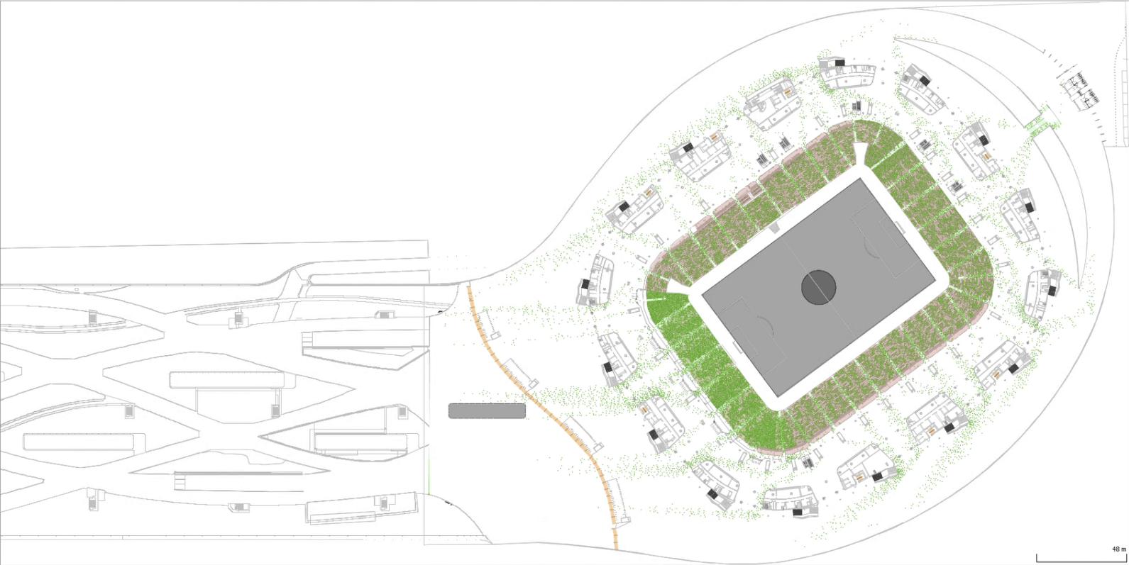 Simulation Allianz Arena