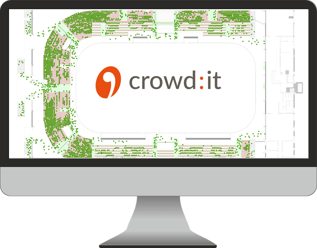 Simulation mit crowd:it