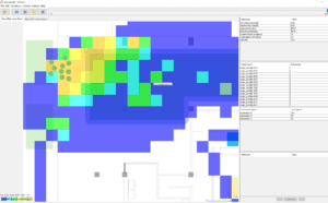 Level-of-service Heatmap Fruin