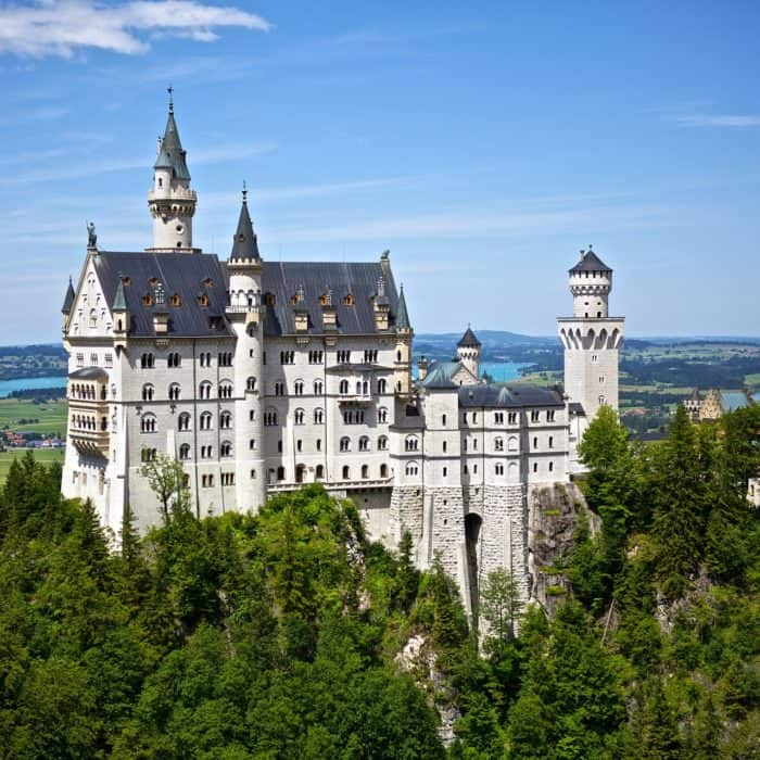 Evacuation analysis for Neuschwanstein Castle