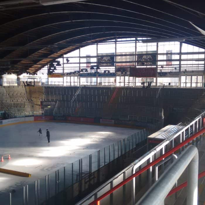 Evacuation Analysis of Rosenheim's Ice Hockey Stadium